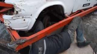 Боевой ГАЗ-31. Варим каркас. Подготовка к ''Завирухе 2015''