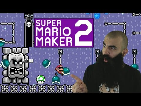 Relearning how to Shell Jump.. Hard Mario Maker 2 Levels