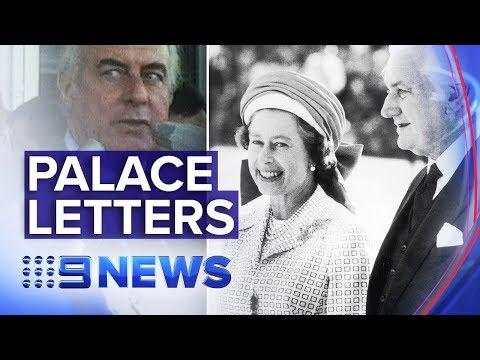 Secret 'palace letters' on Gough Whitlam's dismissal could yet be released | Nine News Australia