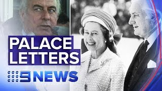 Secret 'palace letters' on Gough Whitlam's dismissal could yet be released | Nine News Australia