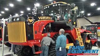 2016 National Farm Machinery Show: Versatile