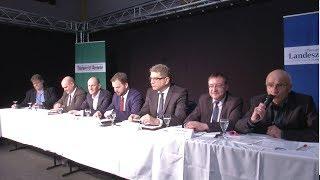 Oscar am Freitag-TV: Podiumsdiskussion zur Landratswahl