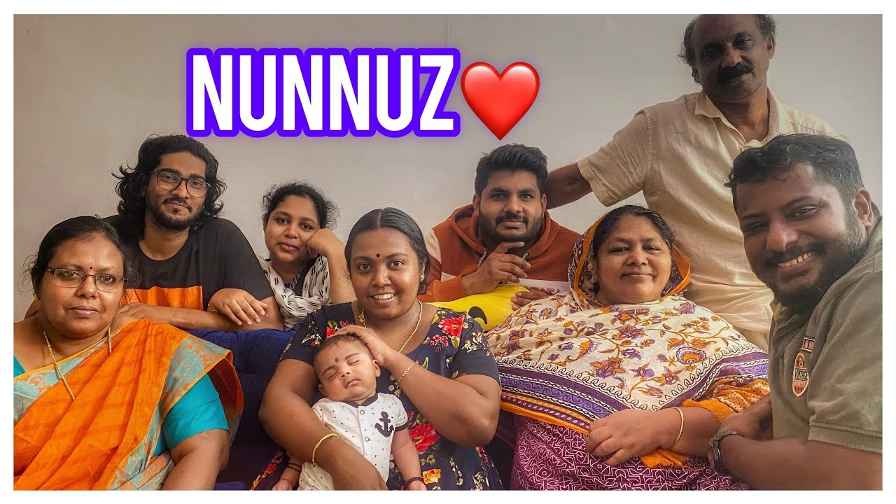 Nunnuz First Day Out//ഒരു വലിയ പെരുന്നാൾ ആഘോഷം //Kerala Vlogger//Epi - 166