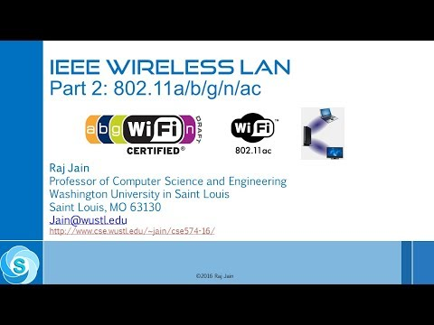 IEEE 802.11 Wireless LANs Revisited- Part 9: 802.11a/b/g/n/ac