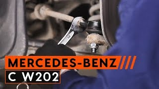 Wie MERCEDES-BENZ C-CLASS (W202) Spurstangengelenk austauschen - Video-Tutorial