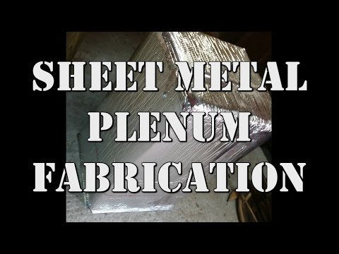 Sheet Metal Plenum Fabrication