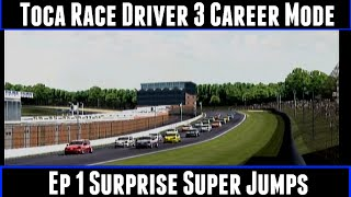 Toca Race Driver 3 Career Mode Ep 1 Surprise Super Jumps