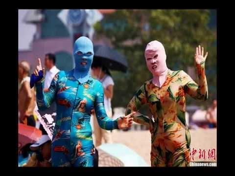 中国のプリクラ、覆面水着、変なのばっかりこの国はどうなってるの?