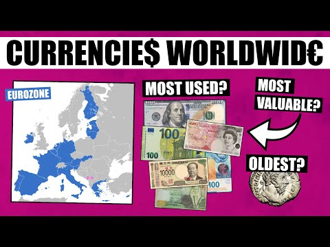 Currencies Of Countries Around The World