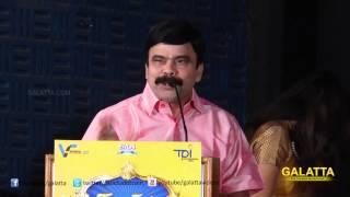 Powerstar Srinivasan's hilarious speech at Naradhan Audio launch