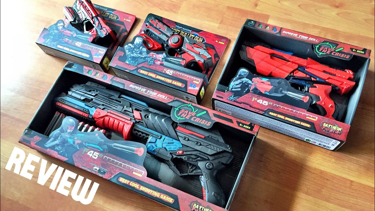 [REVIEW] New Nerf Blaster Line from China