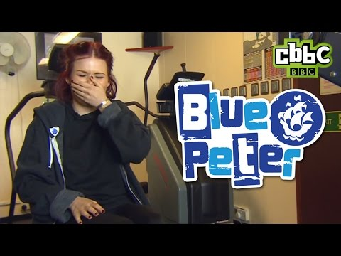 CBBC: Blue Peter bloopers - Lindsey