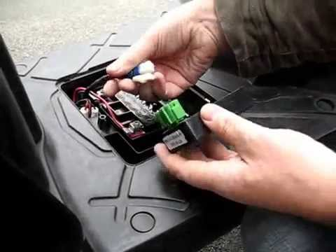 Cutting Kymco Agility 50cc CDI - YouTube