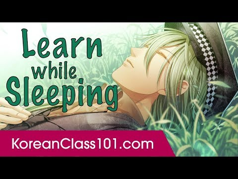 Learn Korean While Sleeping 8 Hours - Learn ALL Basic Phrase
