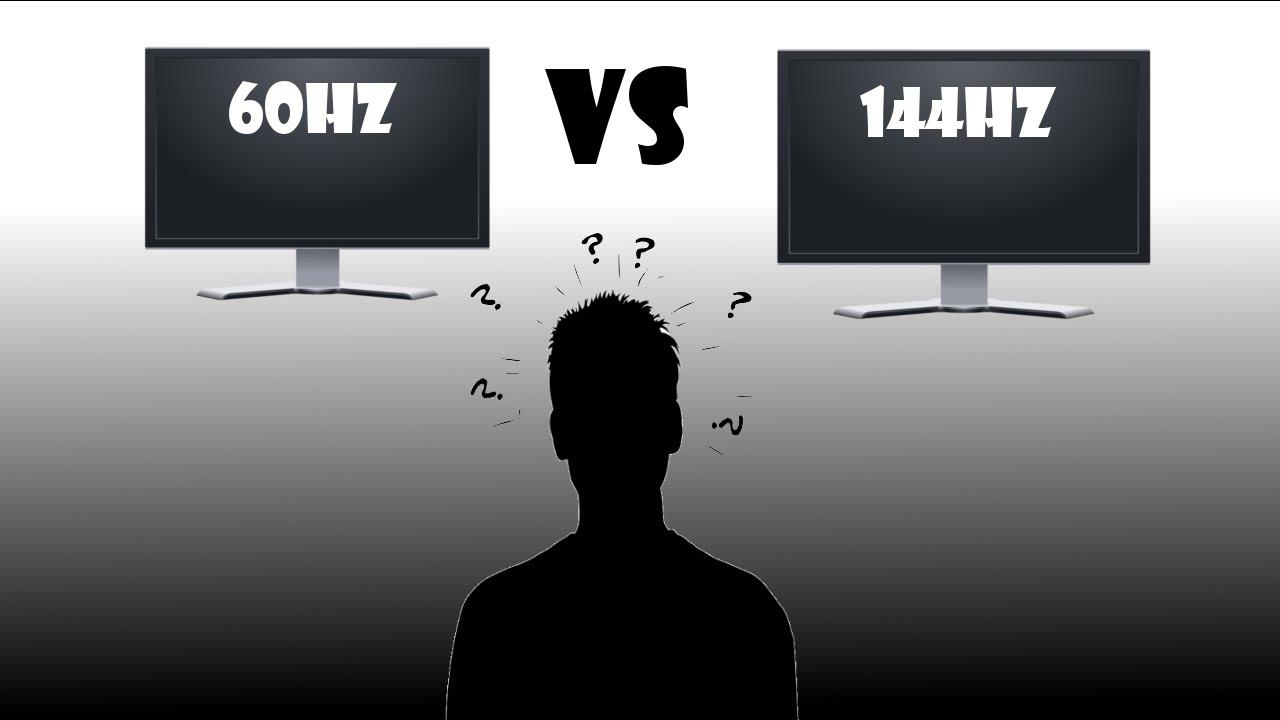 60hz Monitor vs 144hz Monitor