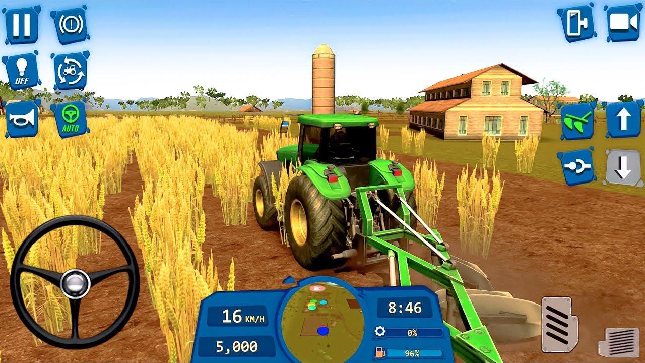 Tractor Arando y Sembrando Simulador de Agricultura - Juegos Android