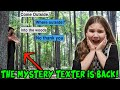 The Mystery Texter Is Back! Strange Clues In The Woods!