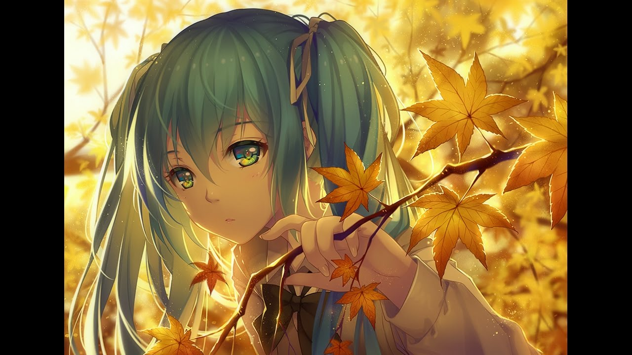 Fall Anime Wallpaper Vocaloid Ultimate Nightcore Mix 1 Hour 💜【hd】 Youtube