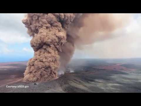 Hawaii Volcano Eruption - Information about Kilauea