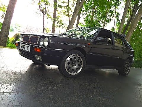 1991 Lancia Delta HF Integrale RETRO DRIVE REVIEW with Bob Boniface & Lancia Rally History