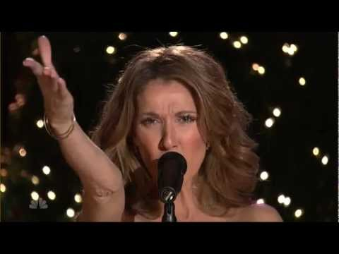 """Celine Dion - """"The Christmas Song/Alone(Heart)"""" - Live at Christmas In Rockefeller Center"""