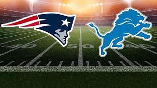 (REACTION) Detroit Lions Defeat  New England Patriots 26-10   Lions Get First Win this Season!!!