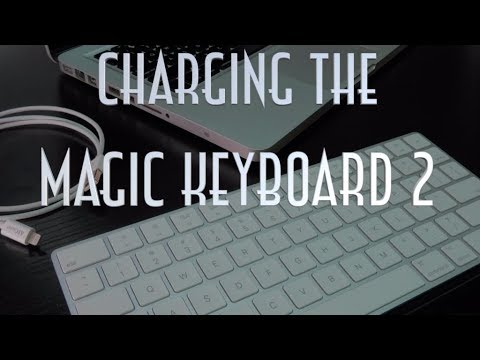 How To Charge The Apple Magic Keyboard