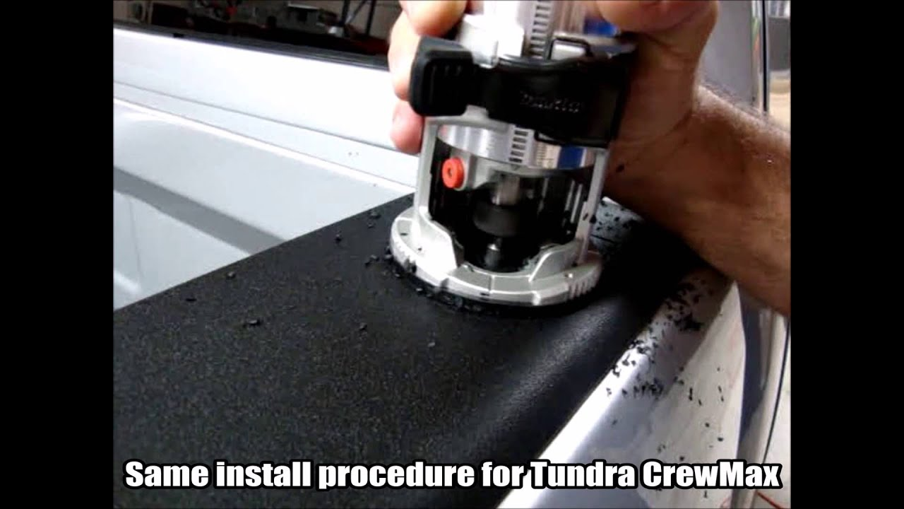 Bullring Installation Toyota Tundra Crewmax Low Profile