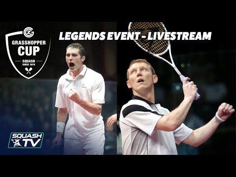 Squash: Palmer v Parke - Legends Event Livestream - Grasshopper Cup 2018