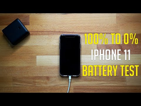 IPhone 11 Battery Drain From 100% To 0% | How Long The IPhone 11 Actually Lasts!