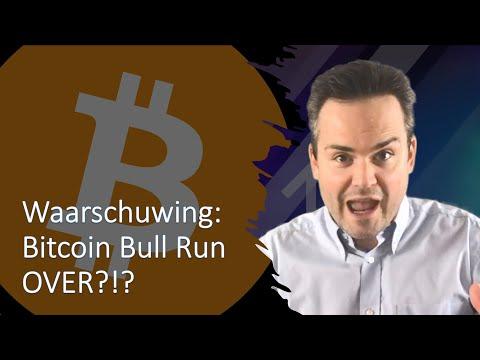 Waarschuwing: Bitcoin Bull Run OVER?