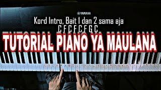 CUY! Tutorial Piano Ya Maulana-Sabyan Gambus by Adi