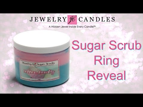 Jewelry Candles Ring Reveal - Cotton Candy Sugar Scrub!