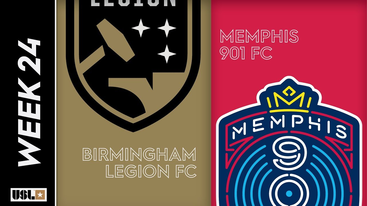 Birmingham Legion FC vs  Memphis 901 FC: August 17th, 2019