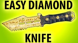 BLACK OPS 3 - HOW TO GET EASY DIAMOND CAMO COMBAT KNIFE @ItsMikeyGaming