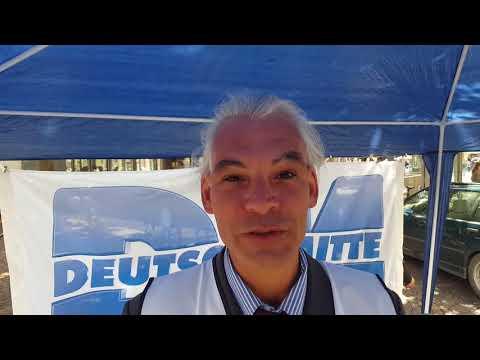 Infostand DM in Bonn 20 05 2017   Interview mit Michael Longerich