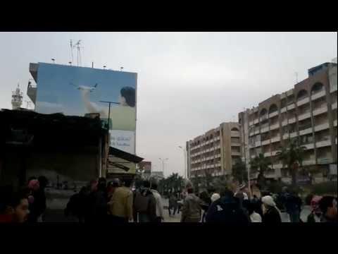 30-12-2011-حماة- جمعة الزحف الى ساحات الحرية
