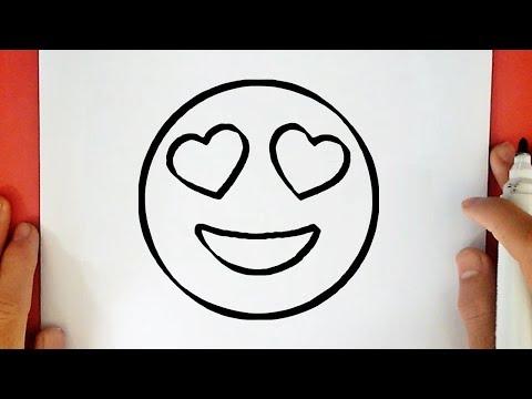 Como Desenhar Um Emoji Apaixonado Youtube