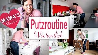 Wöchentliche #PUTZROUTINE   #Putzen #Aufräumen und #Haushalt machen   Rebekka