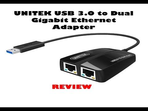 Unitek usb 30 to dual gigabit ethernet adapter review youtube unitek usb 30 to dual gigabit ethernet adapter review publicscrutiny Image collections
