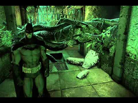 Batman Arkham Asylum PLAYTHROUGH!!! Part 28 (Riddler Botanical Gardens and Arkham East)