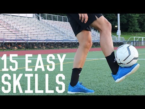 15 Easy Juggling/Freestyle Skills | Learn These Simple Football Freestyle Tricks