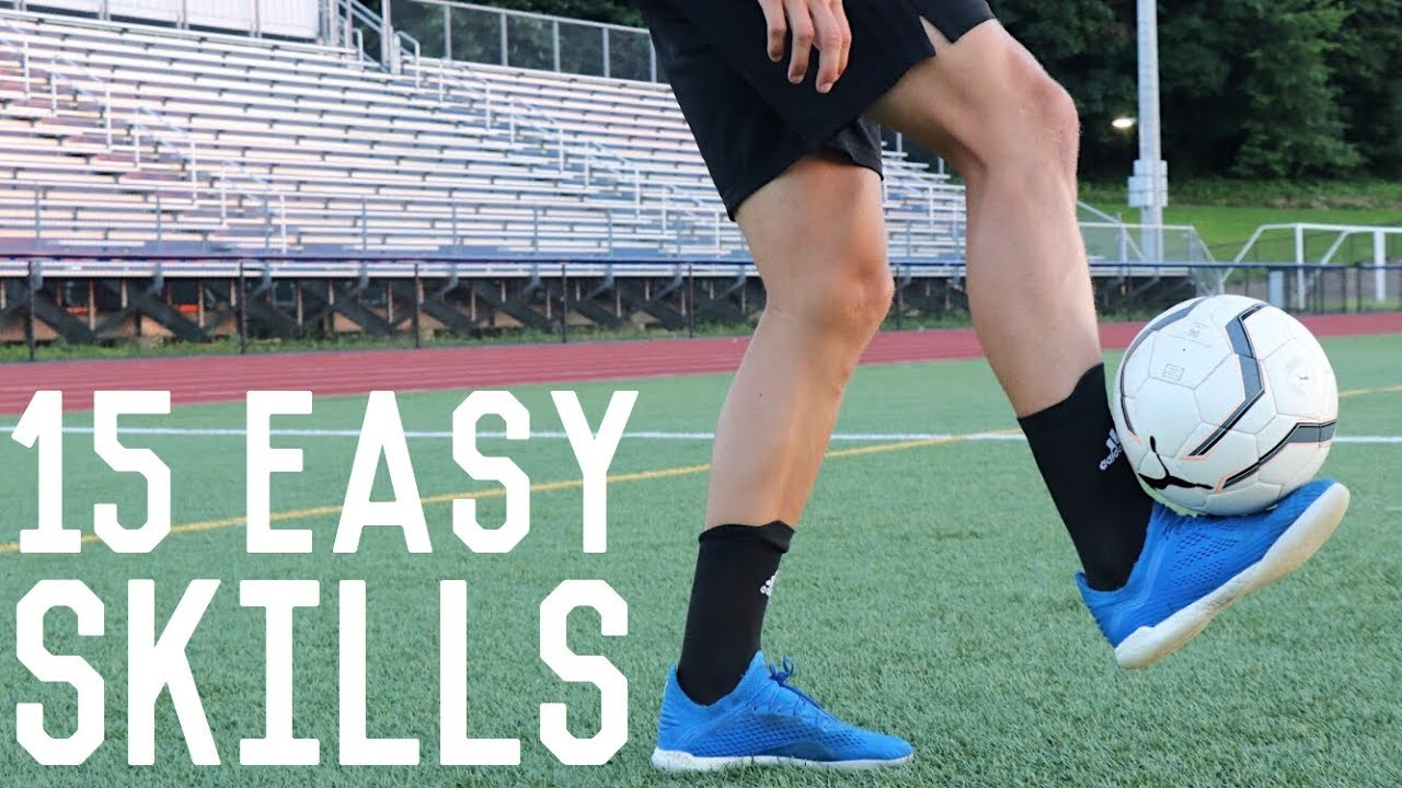 15 Easy Juggling Freestyle Skills Learn These Simple Football Freestyle Tricks Youtube