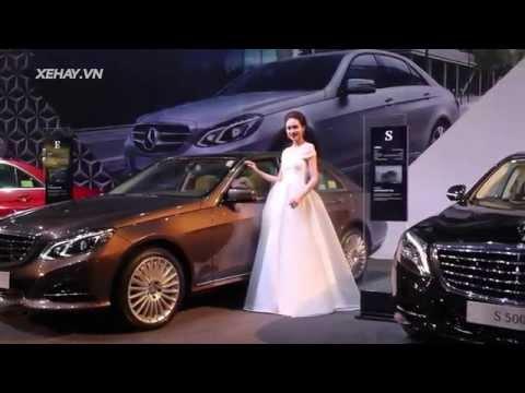 Tuần lễ thời trang Mercedes-Benz ở Hà Nội