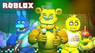 THE BEST FUTURE FIVE NIGHTS AT FREDDY'S FROM ROBLOX!!! FNAF ANIMATRONIC GUARDS