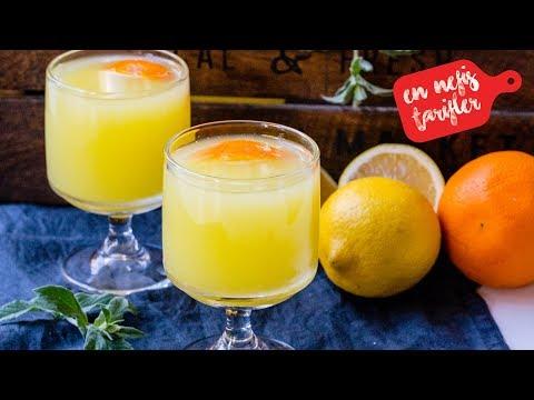 1 Portakal 1 Limon ile Pratik Limonata Tarifi (Kolay Limonata Nasıl Yapılır?) İçecek Tarifleri