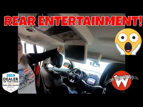 2018 Dodge Journey Crossroad 18HX67 Review   Video WalkAround   Used SUVs for Sale at WowWoodys