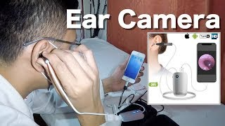 Trying Out Anykit 720HD Digital Otoscope Ear Camera with my iPhone (Unboxing & Trial)