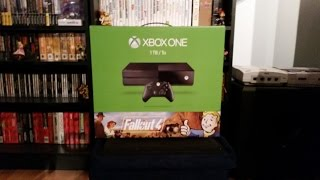 Fallout 4 Xbox One Bundle Unboxing!
