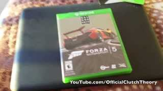 FORZA MOTORSPORT 5 UNBOXING! (DAY ONE EDITION) [HD]
